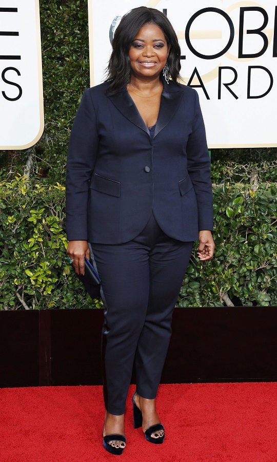 Mandatory Credit: Photo by BEI/Shutterstock (7734784ej) Octavia Spencer 74th Annual Golden Globe Awards, Arrivals, Los Angeles, USA - 08 Jan 2017